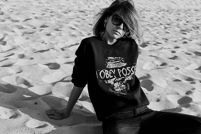 the petticoat black obey posse beach france