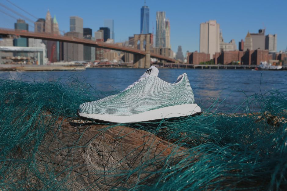 Adidas Creates Sneakers That Are Made Entirely from Ocean Trash - Sustainable Sneakers
