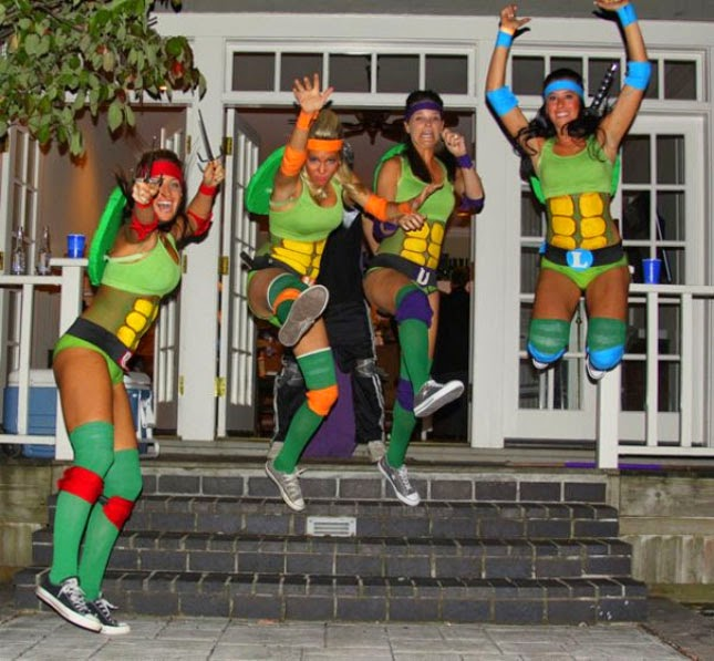 Ninja Turtle Girls