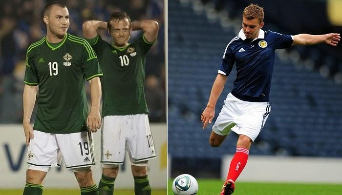 Escocia vs Irlanda del Norte en vivo