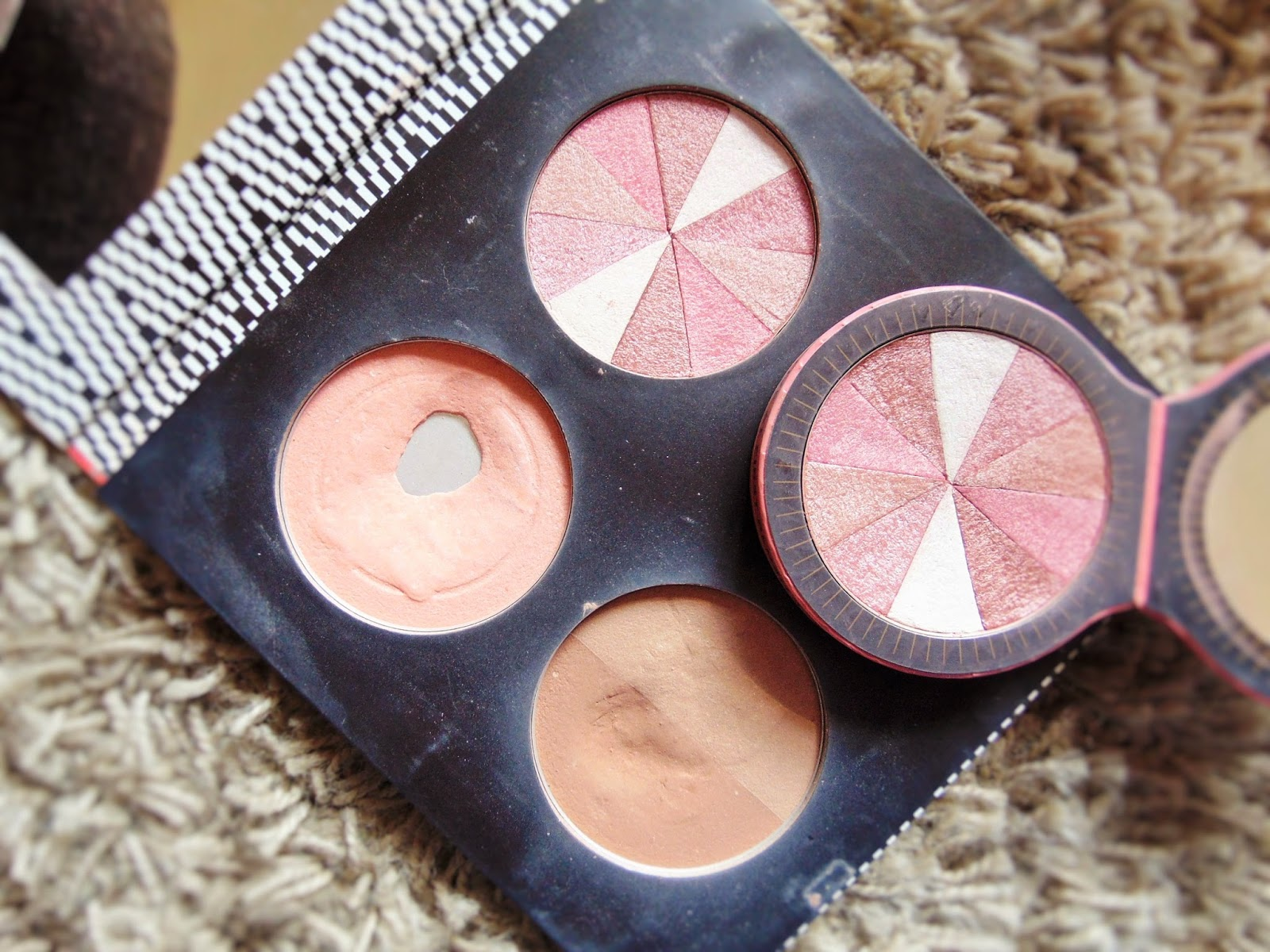 soap & glory faves solr powder love at first blush glow all out
