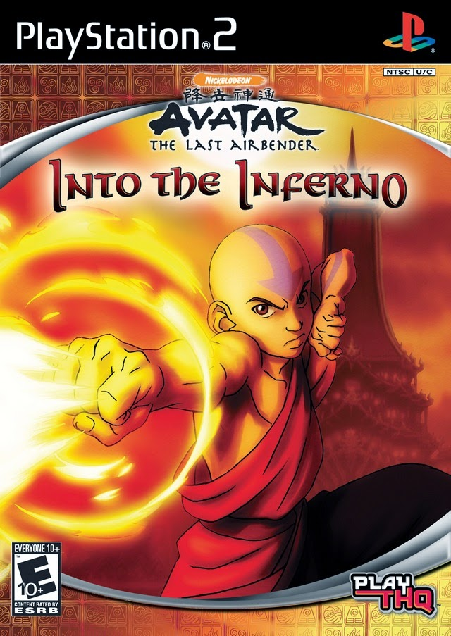 AVATAR THE INTO THE INFERNO PS2