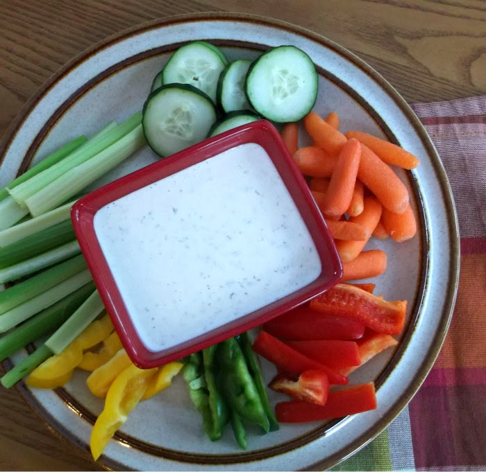 creamy herb dip/salad dressing