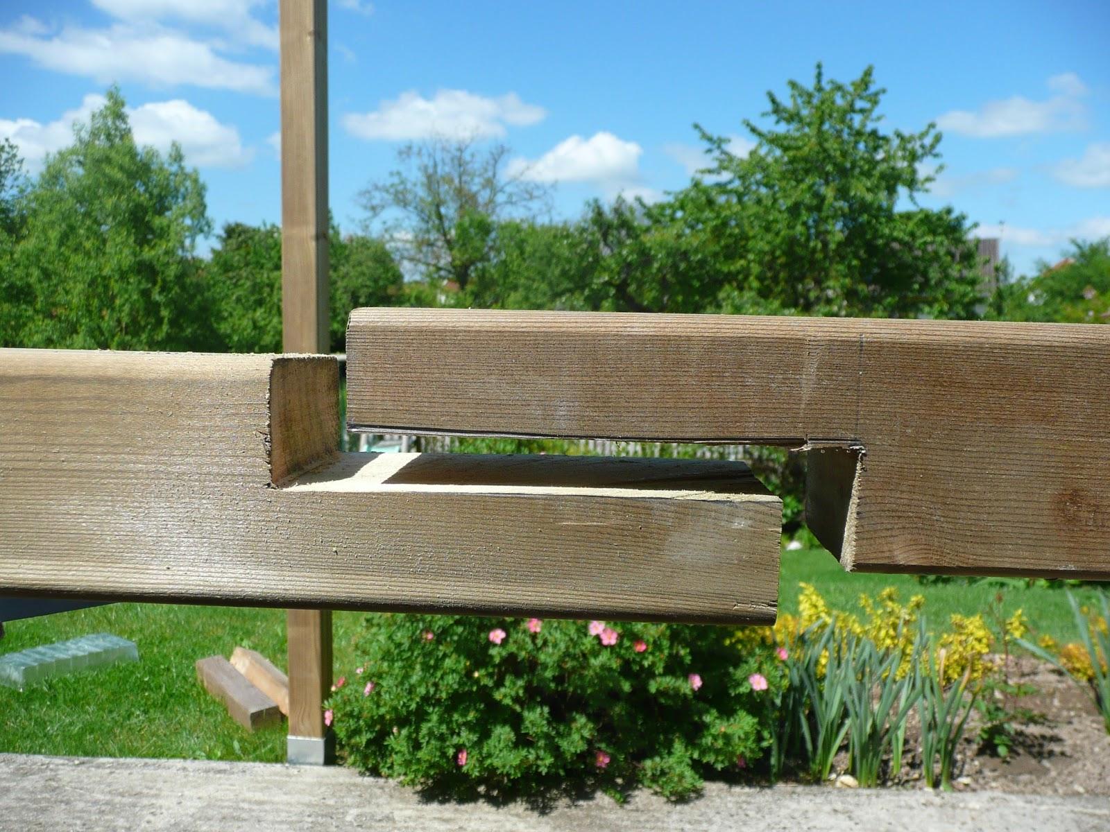 Notre jardin secret projet n 2 for Comment traiter les poutres en bois