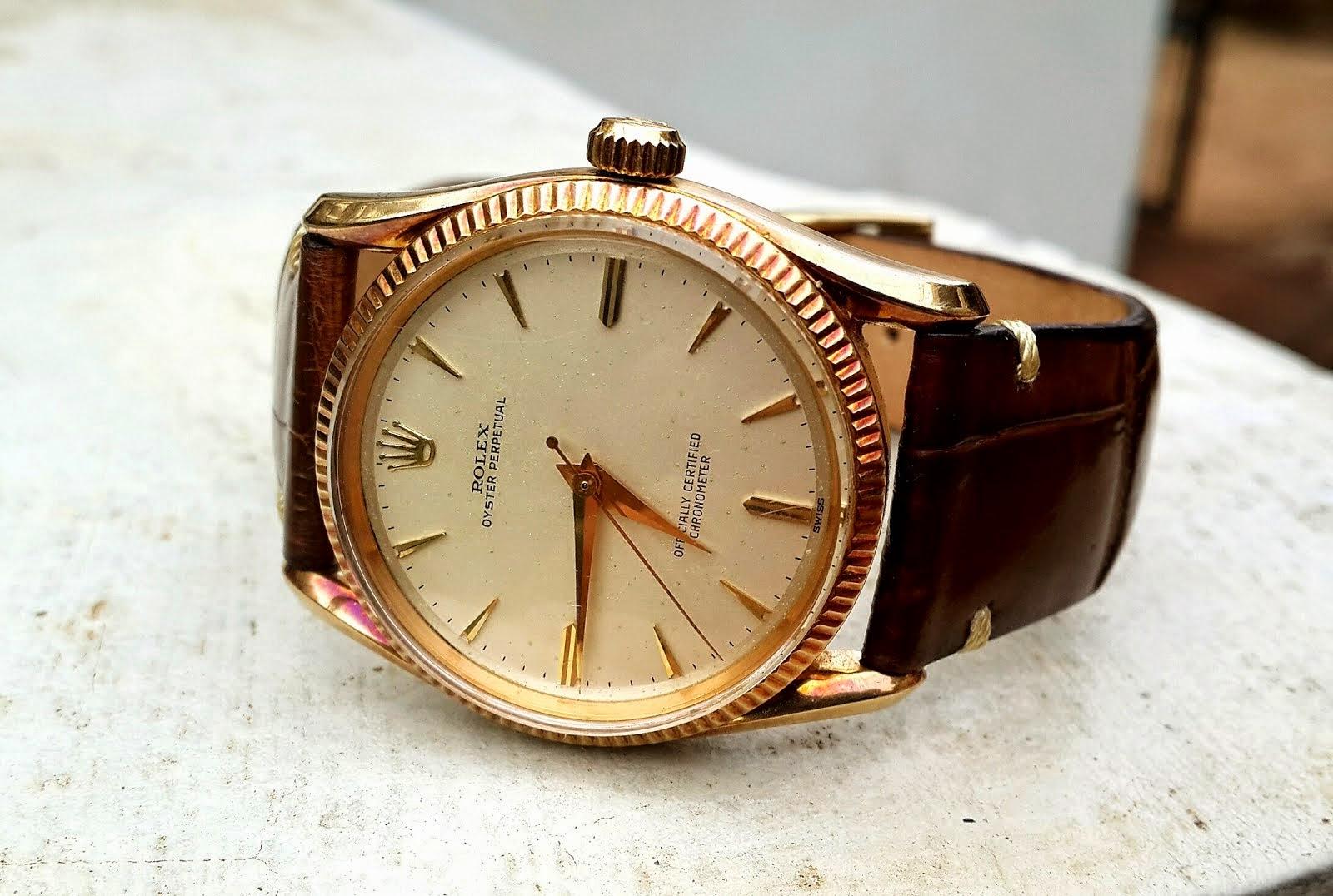 Rolex Bombay 6593 14K