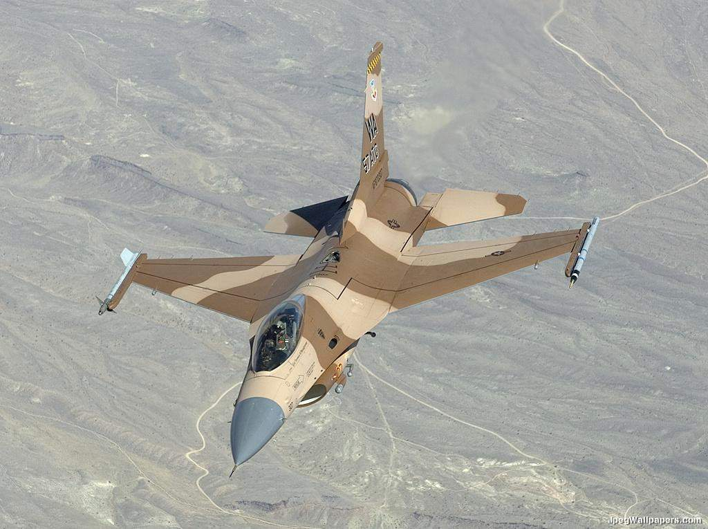 jet-airline: F16 Fighter plane
