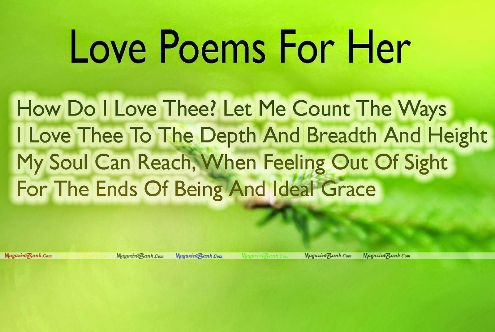 Good Morning Poems For Me From You