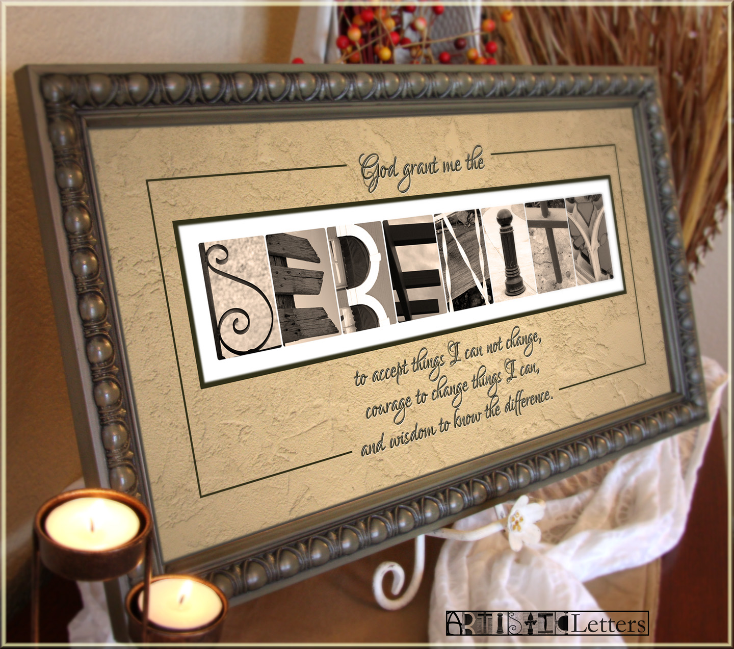alphabet photography by artisticletters framed alphabet With letter photography frames
