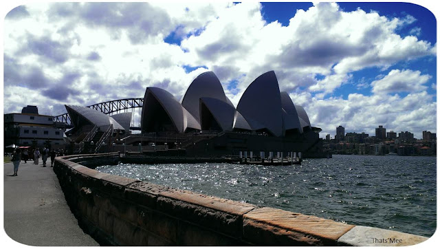 Opera Sydney Australie  vue jardin botanique, visiter Sydney Opera