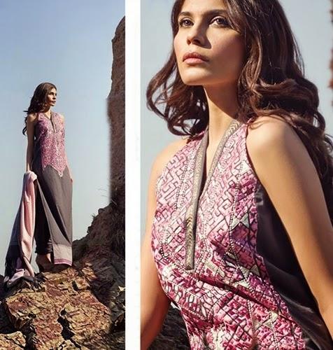 Sana Safinaz Shawl 2014-2015