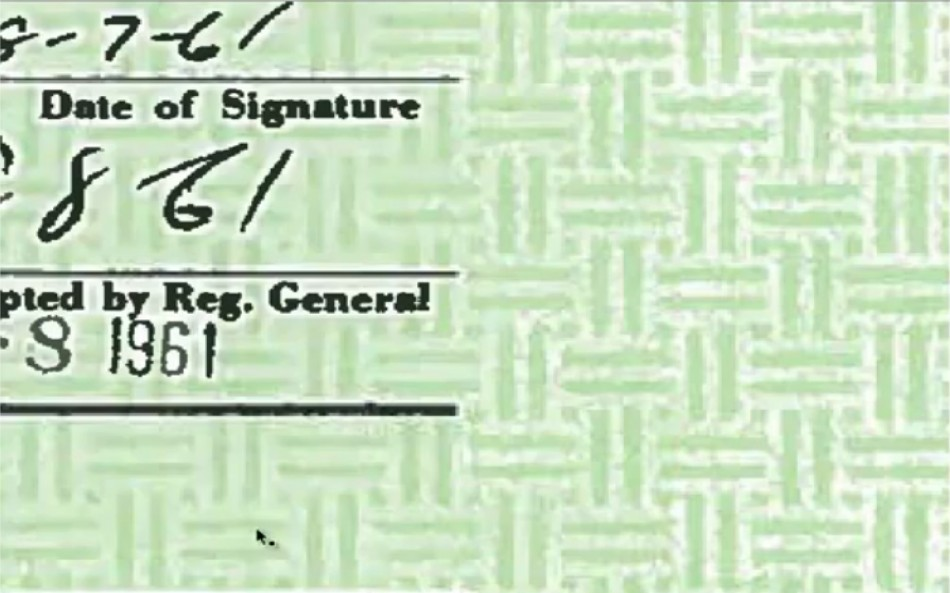 Obama\'s birth certificate is fake - Oddetorium