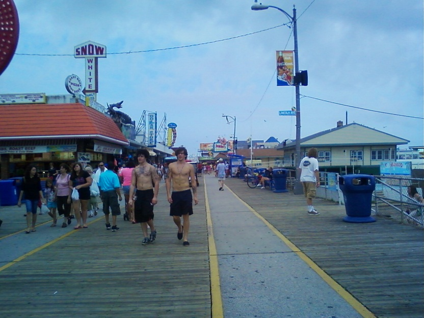Regulus Star Notes Shore To Please Or Wildwood New Jersey Visit Pictures Part 1