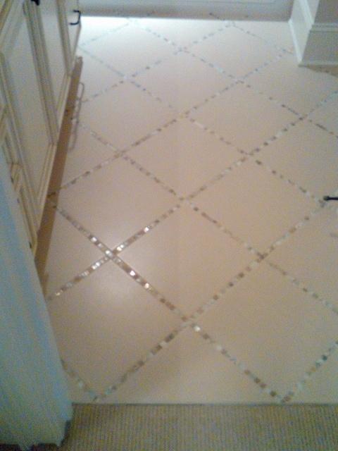 Bathroom Tile Ideas Stone Saver - Mosaic tile around bathroom mirror for bathroom decor ideas