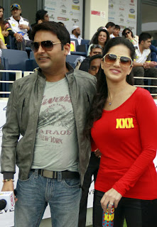 Sunny Leone with Kapil Sharma