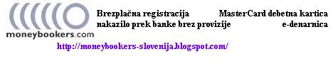 Moneybooker Slovenija