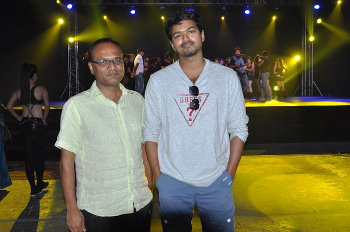 Actor vijay Latest Shooting Spot Stills show stills
