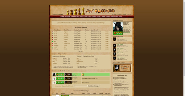 AoF Chess Club PC Game Free Download