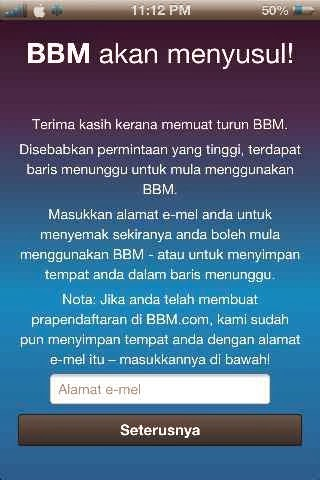 how to delete bbm account on iphone