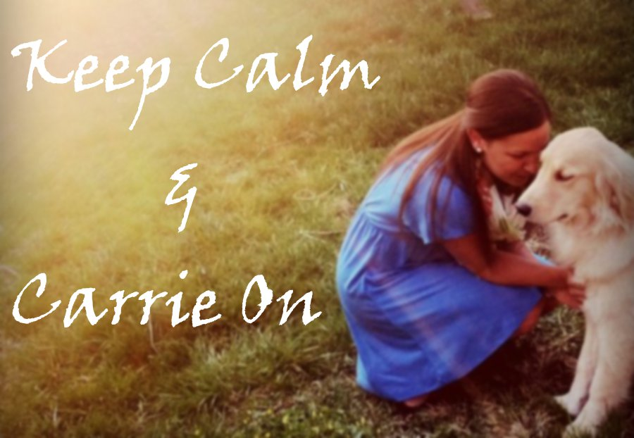 Keep Calm and Carrie On