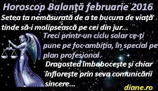 Horoscop Balanţă februarie 2016
