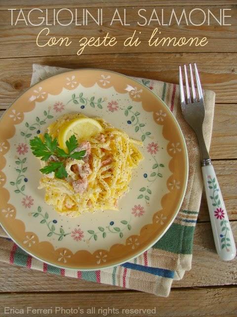 Ricetta Tagliolini al salmone