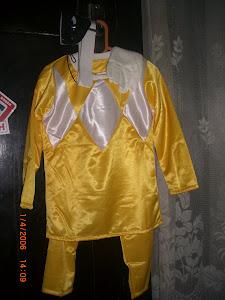 Power Rangers Galaxy kuning