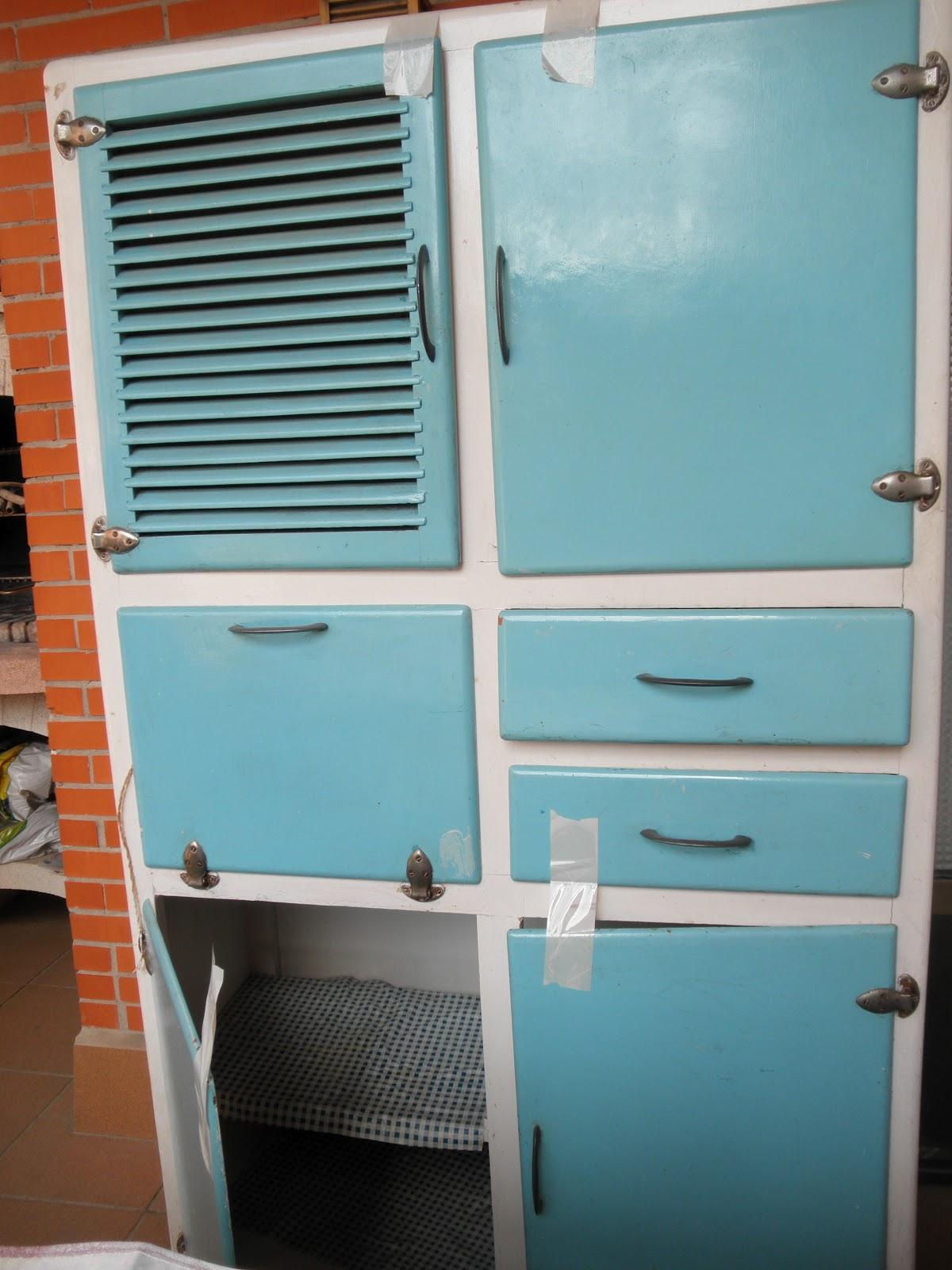 crea vintage mueble de cocina de los a os 60