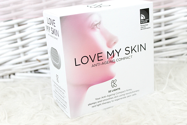 anti ageing compact, love my skin