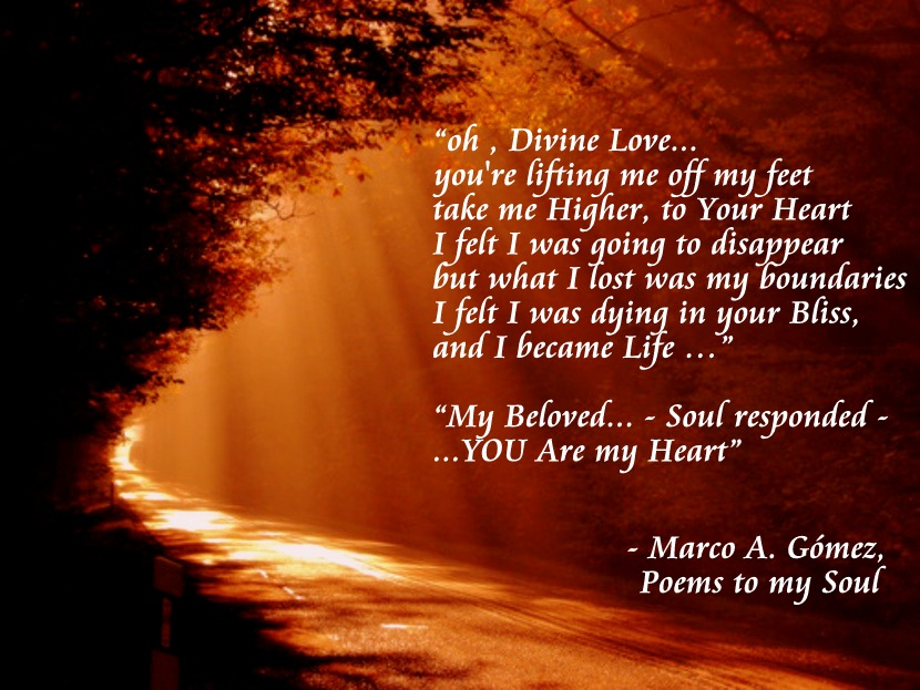 Poems To My Soul Oh Divine Love