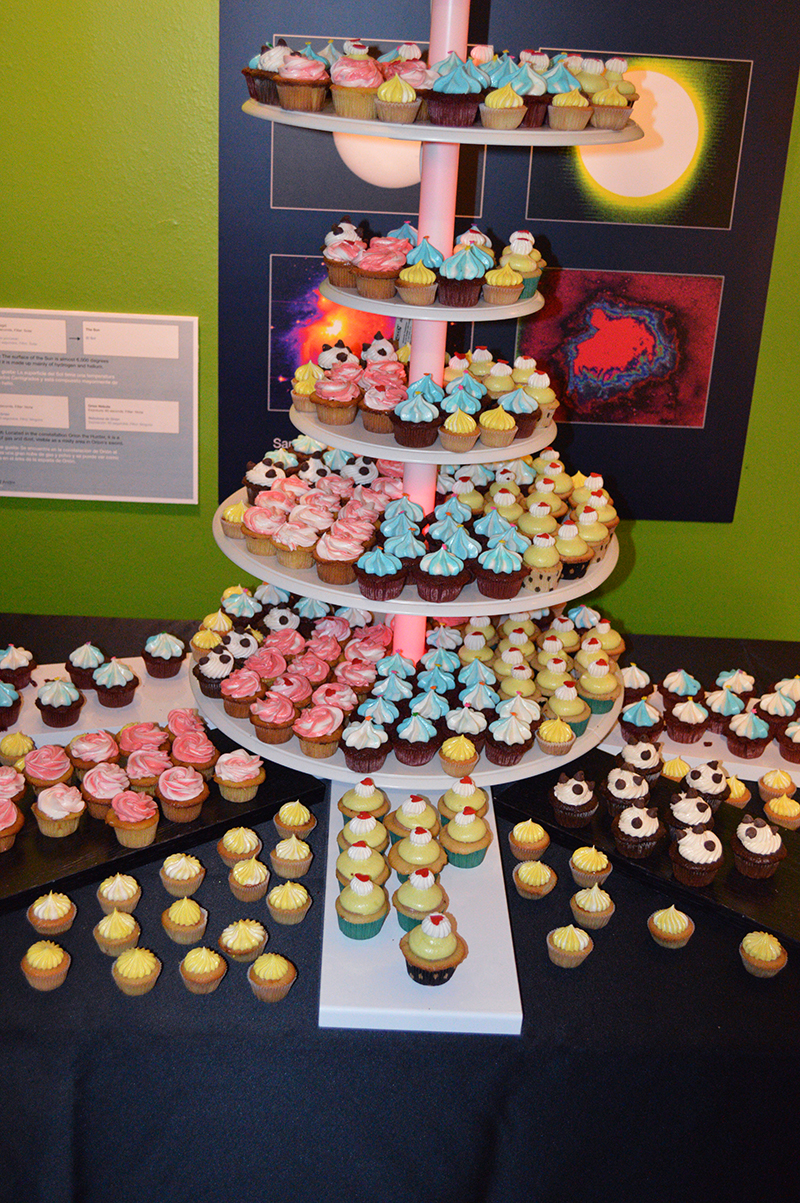 cupcake tower at the 2013 fashion for charity event