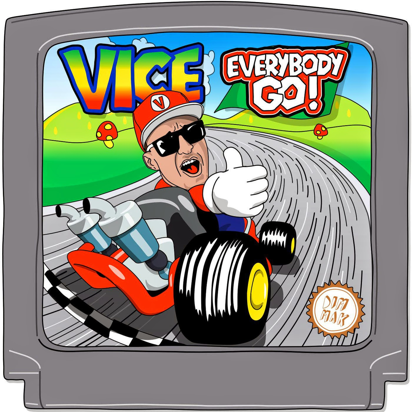 Vice - Everybody Go! - Single  Cover