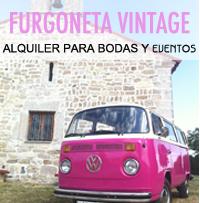 Alquiler de furgonitas vintage para bodas y eventos.