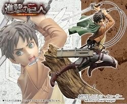 EREN YEAGER ARTFXJ - KOTOBUKIYA