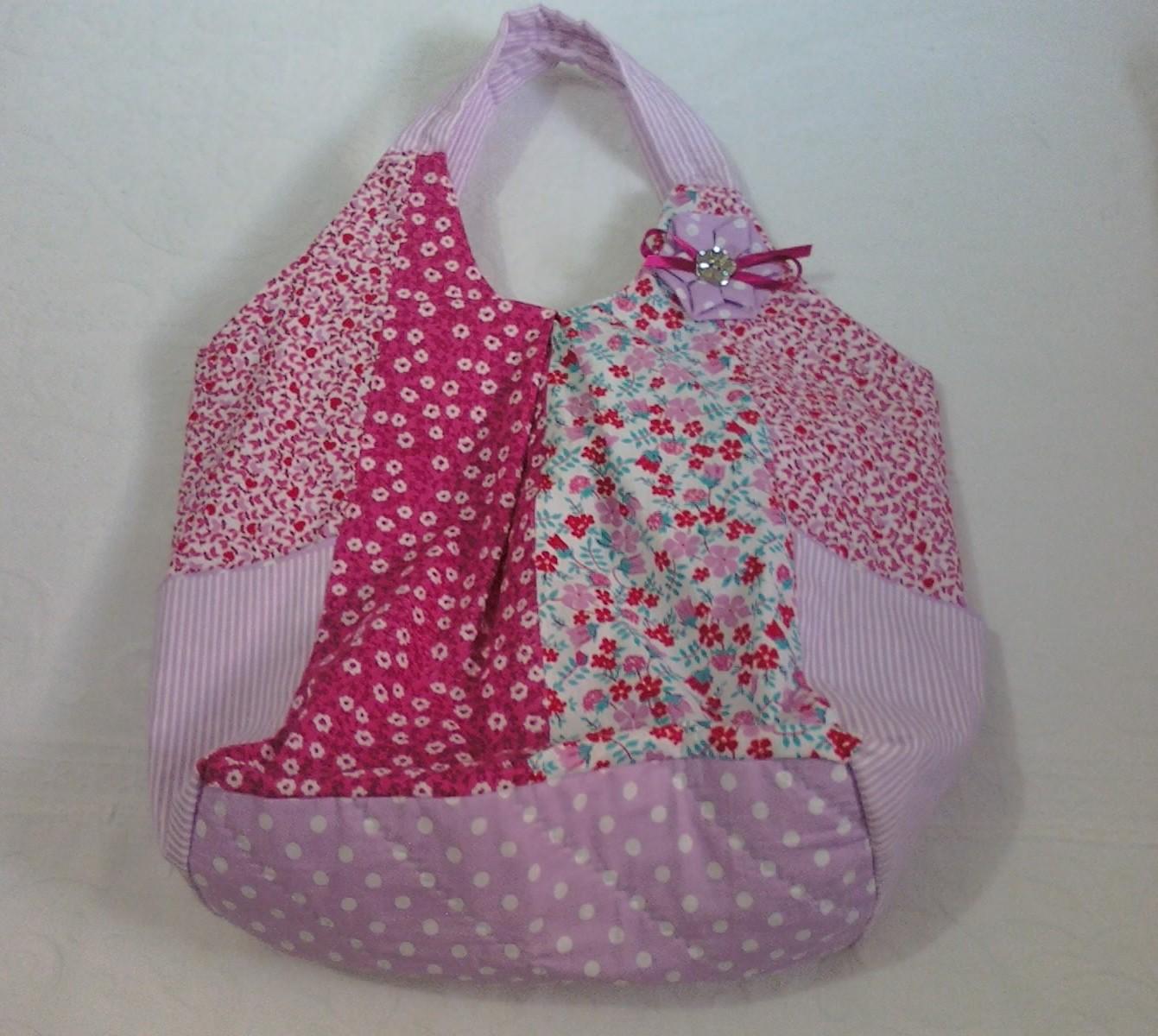Bolsa De Tecido Com Perola : Cetim mea decora??o bolsas em tecido