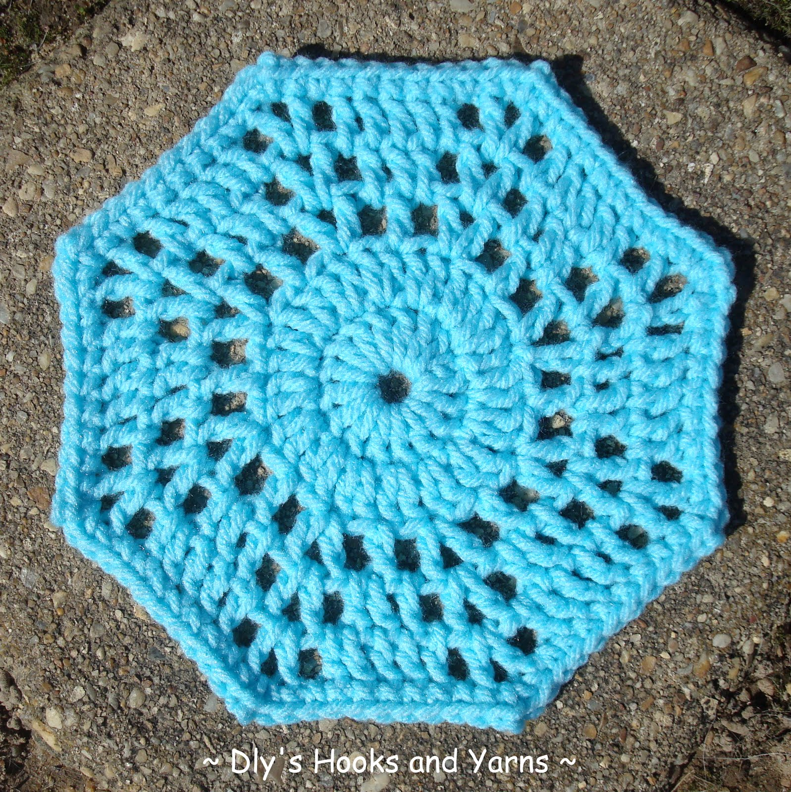 Octagon Baby Afghan Crochet Pattern : Dlys Hooks and Yarns ~: ~ an octogon motif & Two on Tuesday