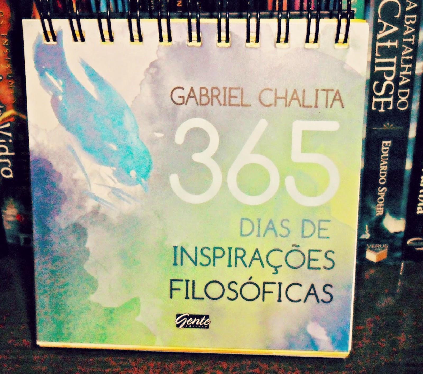 Reflexão Literária Resenha 365 Dias De Inspirações Filosóficas