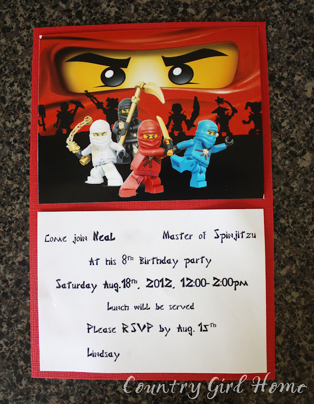 Ninjago Party Invitation Template Free Orderecigsjuiceinfo - Lego birthday invitation template free