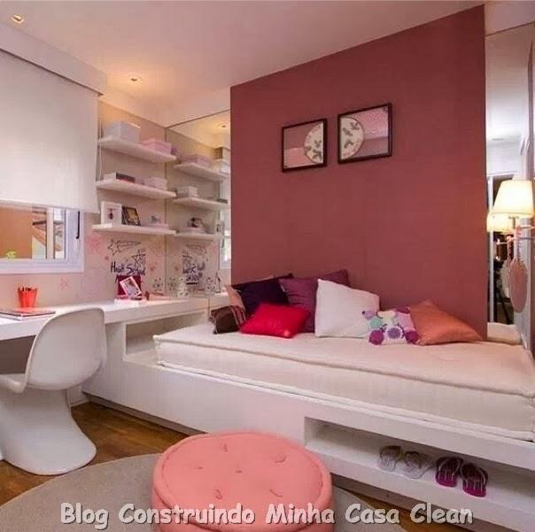 Construindo Minha Casa Clean: 15 Quartos Dos Sonhos De