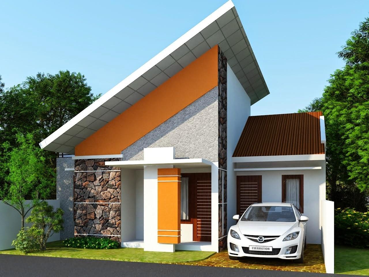 Contoh Desain Rumah Minimalis Sederhana 1 Lantai