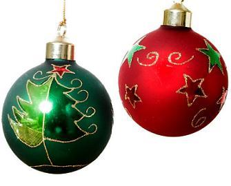 Biblioteca ies albujaira diciembre 2012 - Bolas de navidad rojas ...