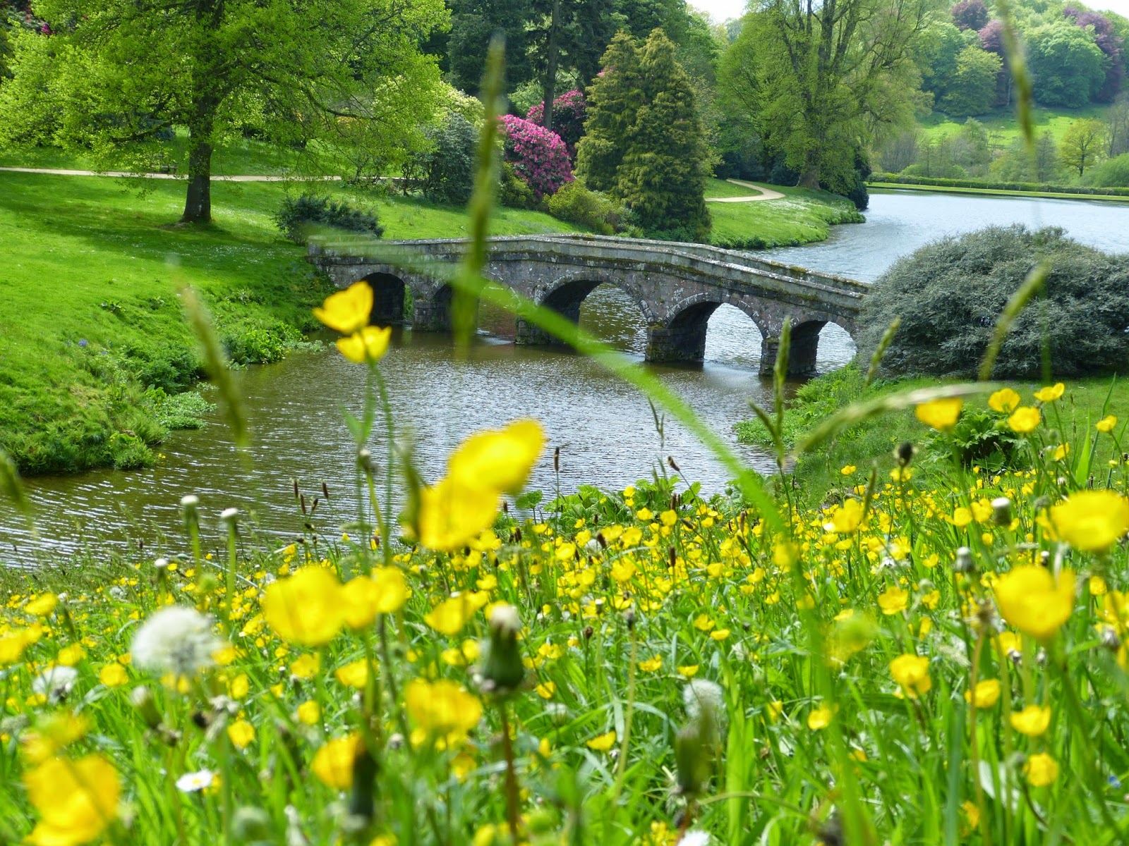 Stone bridge, Stourhead