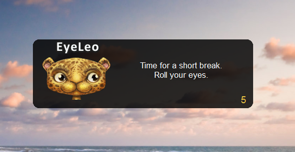 Eye Leo On Desktop