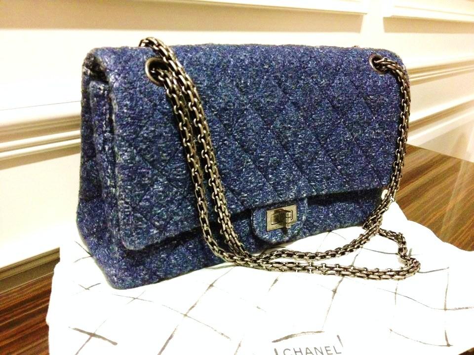 savvy mode current lust chanel denim classic bag