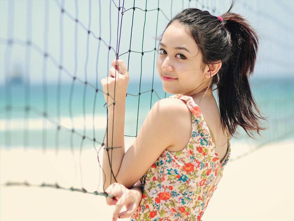 Ngắm hình ảnh hot girl Khổng Mỹ Quỳnh với vẻ đẹp cực kì duyên dáng.|raw