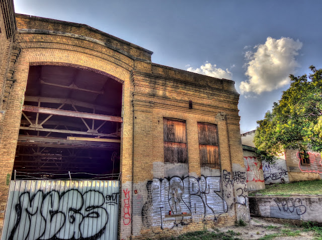 Abandoned Railway Warehouse - Downtown Austin - NW