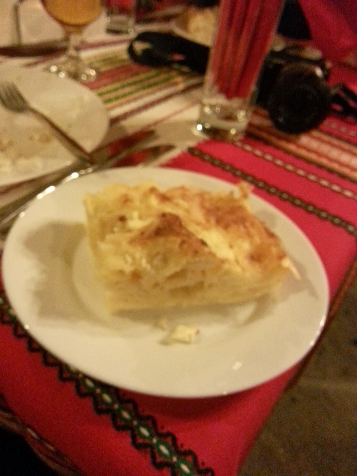 Then a slice of nomnom Banitsa