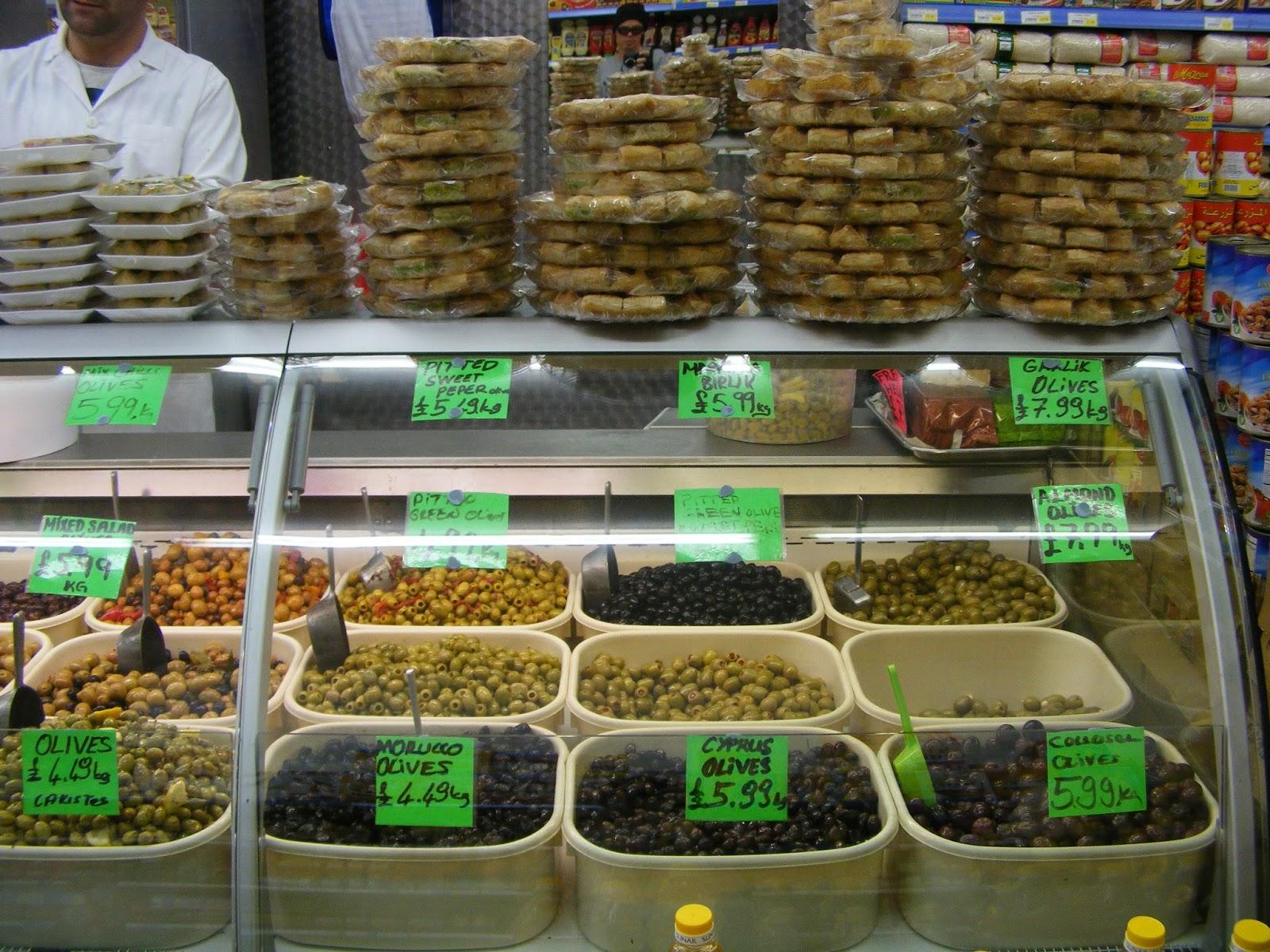 Peckham food what we eat when we eat in peckham alligator justice turkish olive bar i go for the far right olives tasty fandeluxe Images