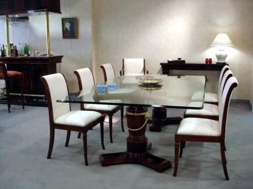 Muebleria 39 39 san roque 39 39 comedores for Decoracion para muebles de comedor