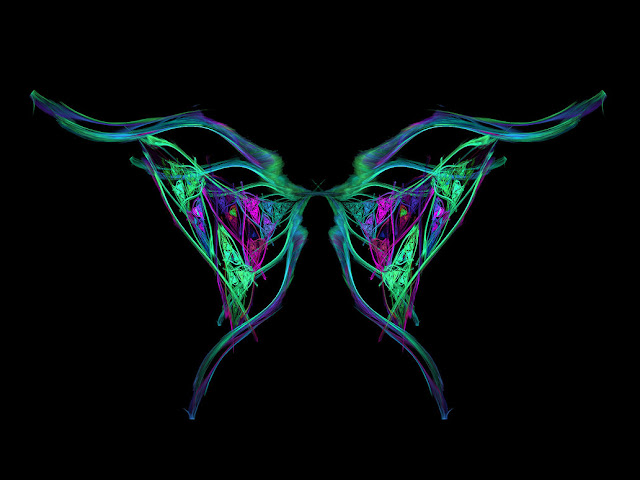 Fractal Butterfly Wings by Shayesda