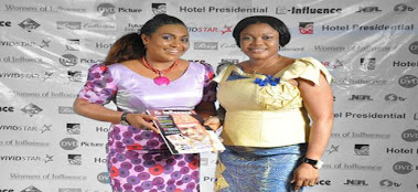 Debby Jones (CEO G-Influence with Hilda Dokubo)